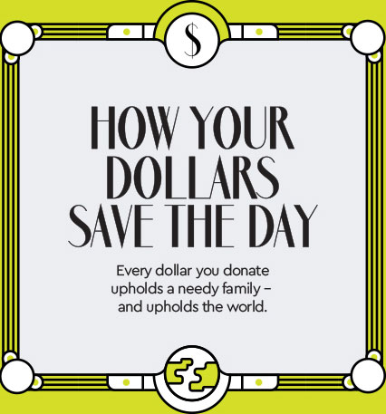 How your Dollars Save the Day